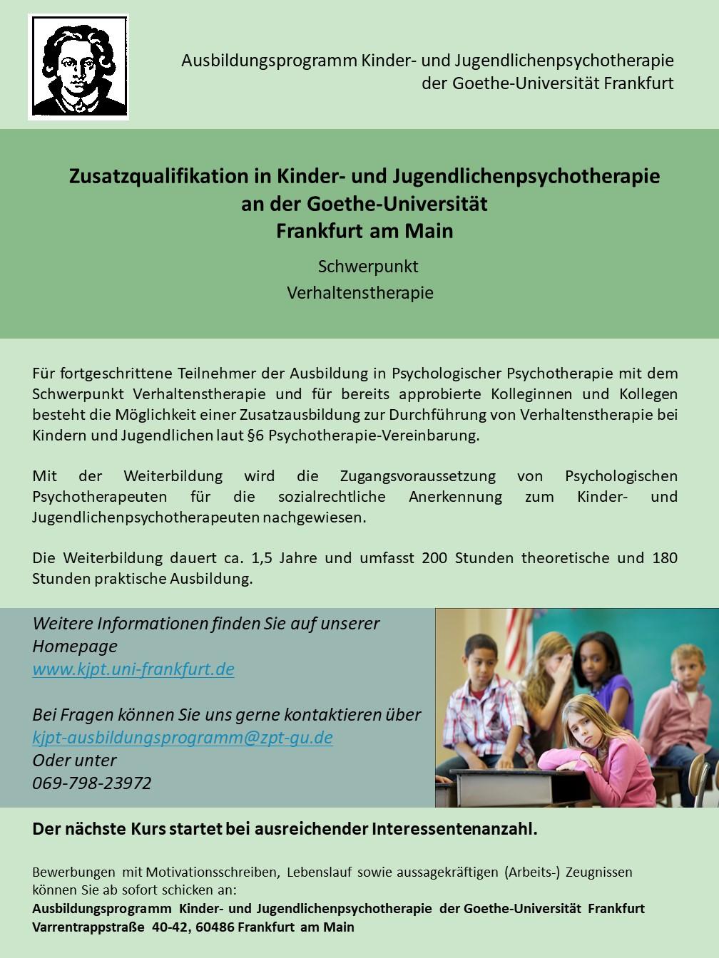 Goethe Universitat Frankfurt Uni Assist E V 10